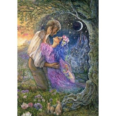 Puzzle  Grafika-02624 Josephine Wall - Love Between Dimensions