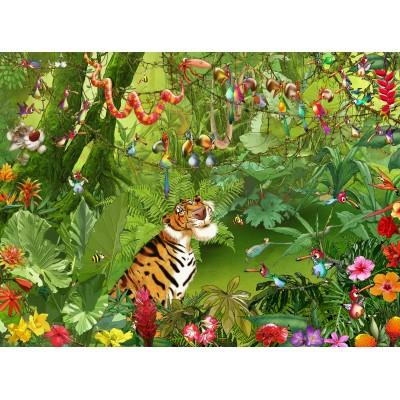 Puzzle  Grafika-02629 François Ruyer - Jungle