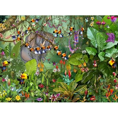 Puzzle  Grafika-02632 François Ruyer - Jungle