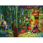 Puzzle  Grafika-02655 François Ruyer - In der Küche!