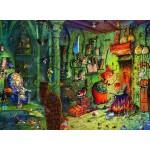 Puzzle  Grafika-02657 François Ruyer - In der Küche!