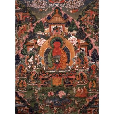 Puzzle Grafika-02668 Buddha Amitabha in His Pure Land of Suvakti