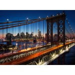 Puzzle  Grafika-02671 Brooklyn Bridge, Manhattan, New York