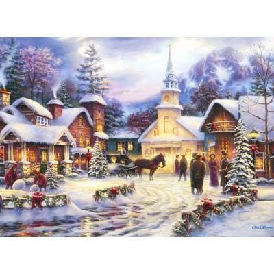 Puzzle  Grafika-02681 Chuck Pinson - Faith Runs Deep