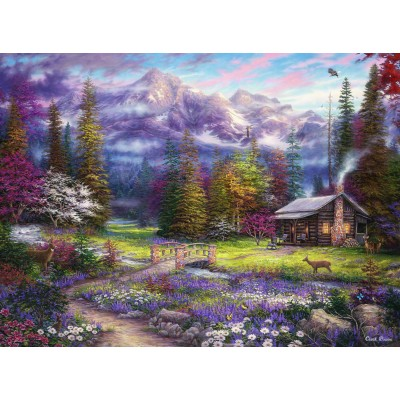 Puzzle  Grafika-02697 Chuck Pinson - Inspiration of Spring Meadows