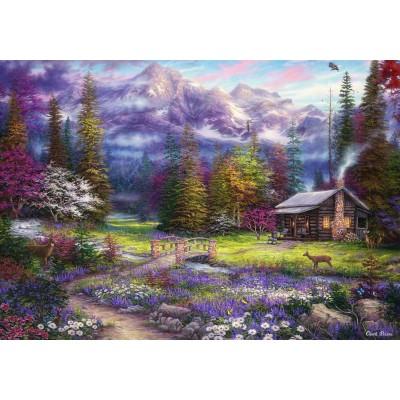 Puzzle  Grafika-02698 Chuck Pinson - Inspiration of Spring Meadows