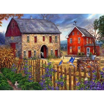 Puzzle  Grafika-02715 Chuck Pinson - The Bluebirds' Song