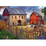 Puzzle  Grafika-02717 Chuck Pinson - The Bluebirds' Song