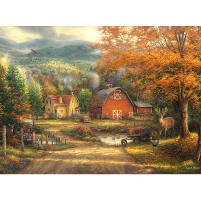 Puzzle  Grafika-02731 Chuck Pinson - Country Roads Take Me Home