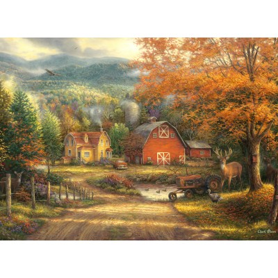 Puzzle  Grafika-02733 Chuck Pinson - Country Roads Take Me Home
