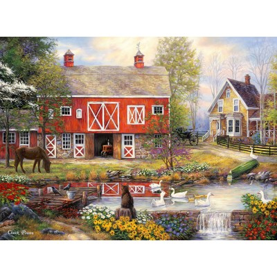 Puzzle  Grafika-02737 Chuck Pinson - Reflections On Country Living