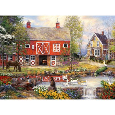 Puzzle Grafika-02739 Chuck Pinson - Reflections On Country Living