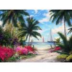 Puzzle  Grafika-02744 Chuck Pinson - Sea Breeze Trail