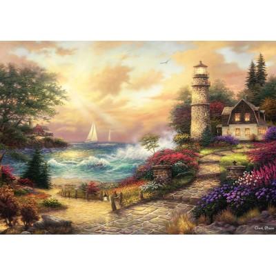 Puzzle  Grafika-02748 Chuck Pinson - Seaside Dreams