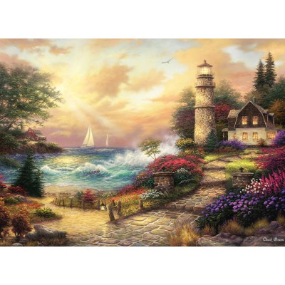 Puzzle  Grafika-02749 Chuck Pinson - Seaside Dreams
