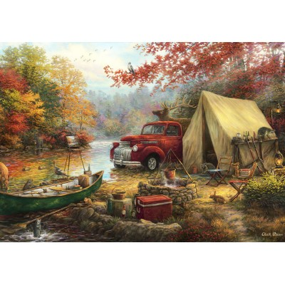 Puzzle  Grafika-02754 Chuck Pinson - Share the Outdoors