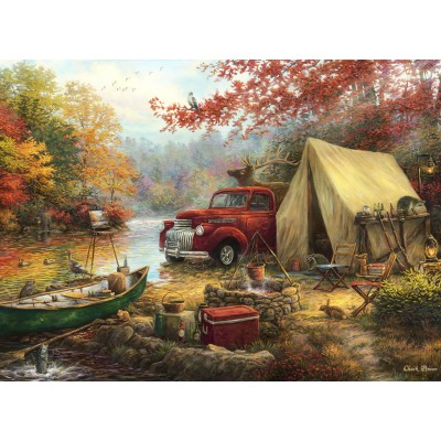 Puzzle  Grafika-02755 Chuck Pinson - Share the Outdoors