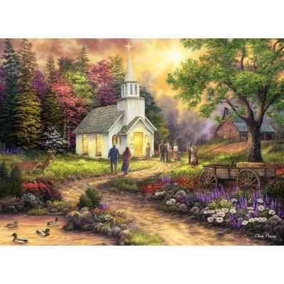Puzzle  Grafika-02776 Chuck Pinson - Strength Along the Journey