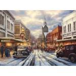 Puzzle  Grafika-02777 Chuck Pinson - The Warmth of Small Town Living