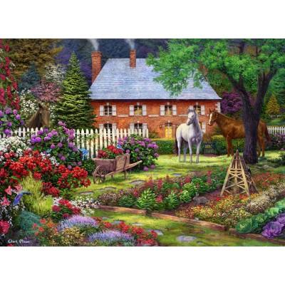 Puzzle  Grafika-02785 Chuck Pinson - The Sweet Garden