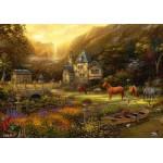 Puzzle  Grafika-02787 Chuck Pinson - The Golden Valley