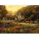 Puzzle  Grafika-02788 Chuck Pinson - The Golden Valley
