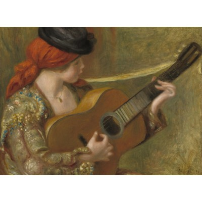 Puzzle  Grafika-02802 Auguste Renoir - Young Spanish Woman with a Guitar