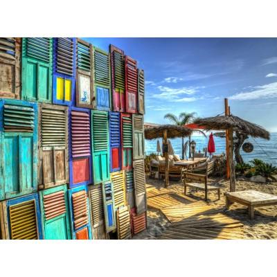 Puzzle  Grafika-02809 Windows on Paradise