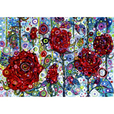 Puzzle  Grafika-02846 Sally Rich - Roses