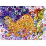 Puzzle  Grafika-02850 Sally Rich - Otters Catch