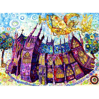 Puzzle  Grafika-02859 Sally Rich - Kathedrale