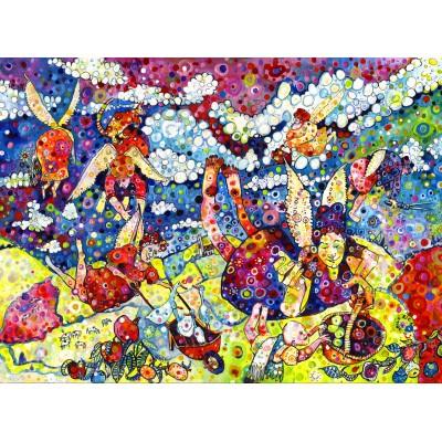 Puzzle  Grafika-02861 Sally Rich - Gardening Angels