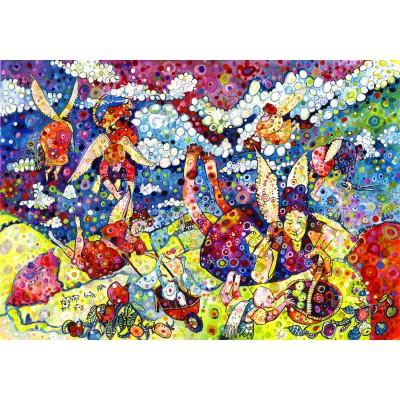 Puzzle  Grafika-02862 Sally Rich - Gardening Angels