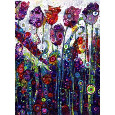 Puzzle Grafika-02863 Sally Rich - Tulips