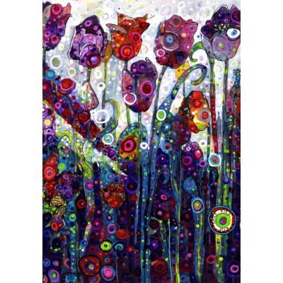 Puzzle  Grafika-02865 Sally Rich - Tulips