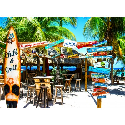 Puzzle  Grafika-02879 Willemstad Beach, Curaçao