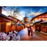 Puzzle  Grafika-02882 Japanese Temple