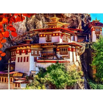 Puzzle  Grafika-02886 Taktshang, Bhutan