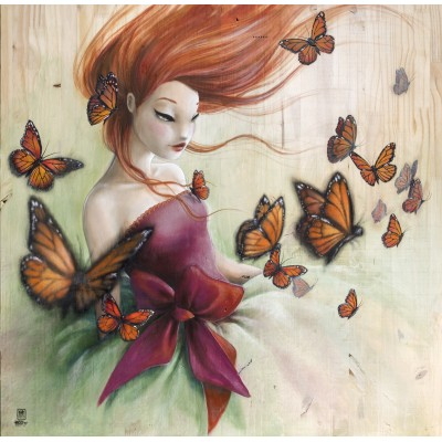 Puzzle  Grafika-02889 Misstigri - Schmetterlinge