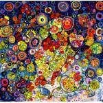 Puzzle  Grafika-02898 Sally Rich - Nasturtions