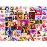 Puzzle  Grafika-02910 Collage - Frauen
