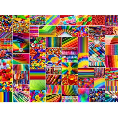 Puzzle Grafika-02912 Collage - Farben