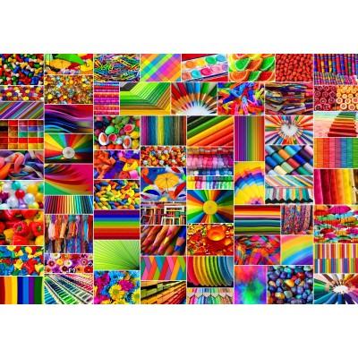 Puzzle  Grafika-02913 Collage - Farben