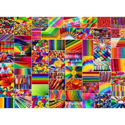Puzzle Grafika-02914 Collage - Farben