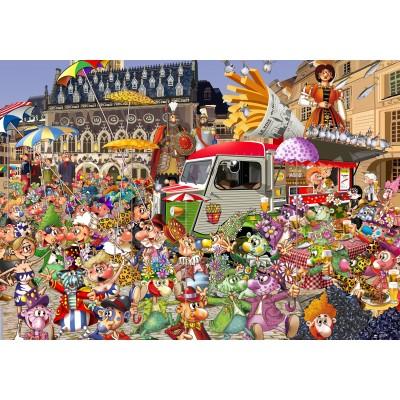 Puzzle  Grafika-02916 Braderie von Lille