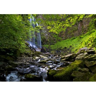 Puzzle  Grafika-02932 Melincwrt Waterfall near Neath