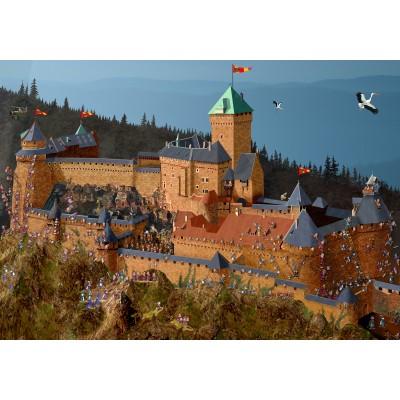 Puzzle  Grafika-02971 Haut-Kœnigsbourg Schloss