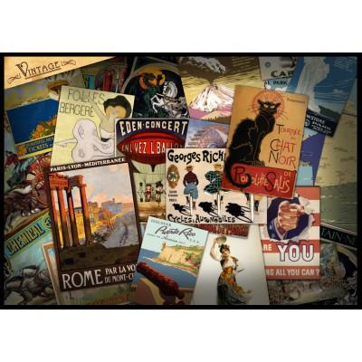 Puzzle Grafika-T-00041 Vintage Poster