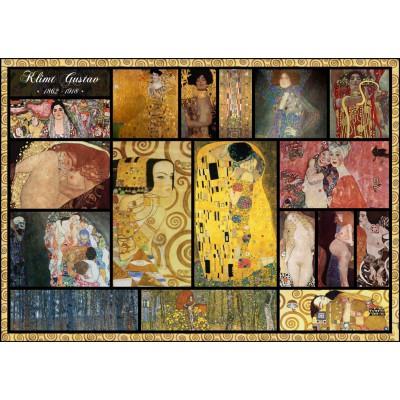 Puzzle  Grafika-T-00049 Collage - Gustav Klimt