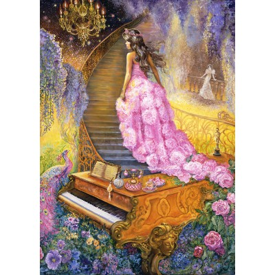 Puzzle Grafika-T-00054 Melody in Pink